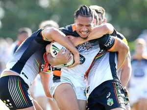 West Tigers star not one for gossip