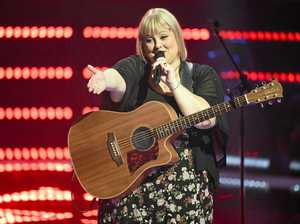 Ex-Toowoomba country singer's TV debut on The Voice