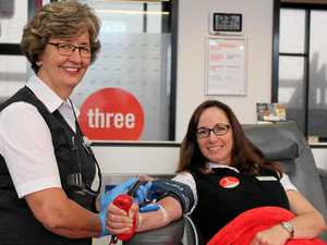 Hospital staff are keen to donate most blood in challenge