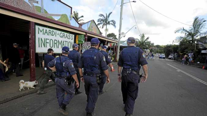 ABOVE: Police will beef up resources at this weekend's MardiGrass event in Nimbin.