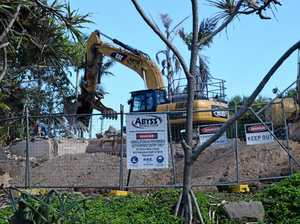 Residents rejoice as notorious Coast eyesore demolished