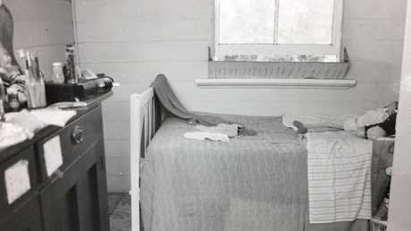 A room belonging to one of the McCulkin girls.