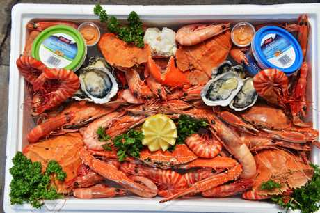 Some yummy seafood is on offer in Mackay.
