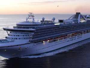 Man falls from mega cruise ship