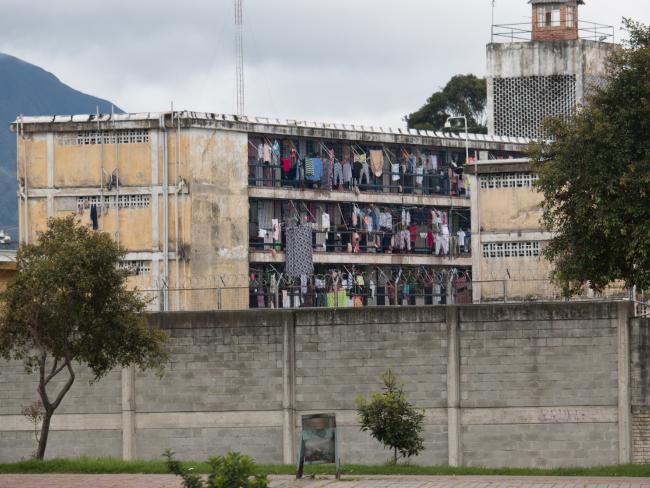 El Buen Pastor prison in Bogota where Cassandra Sainsbury is being held.