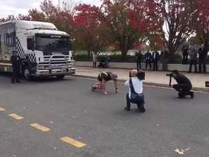 Police Commander pulls RBT bus