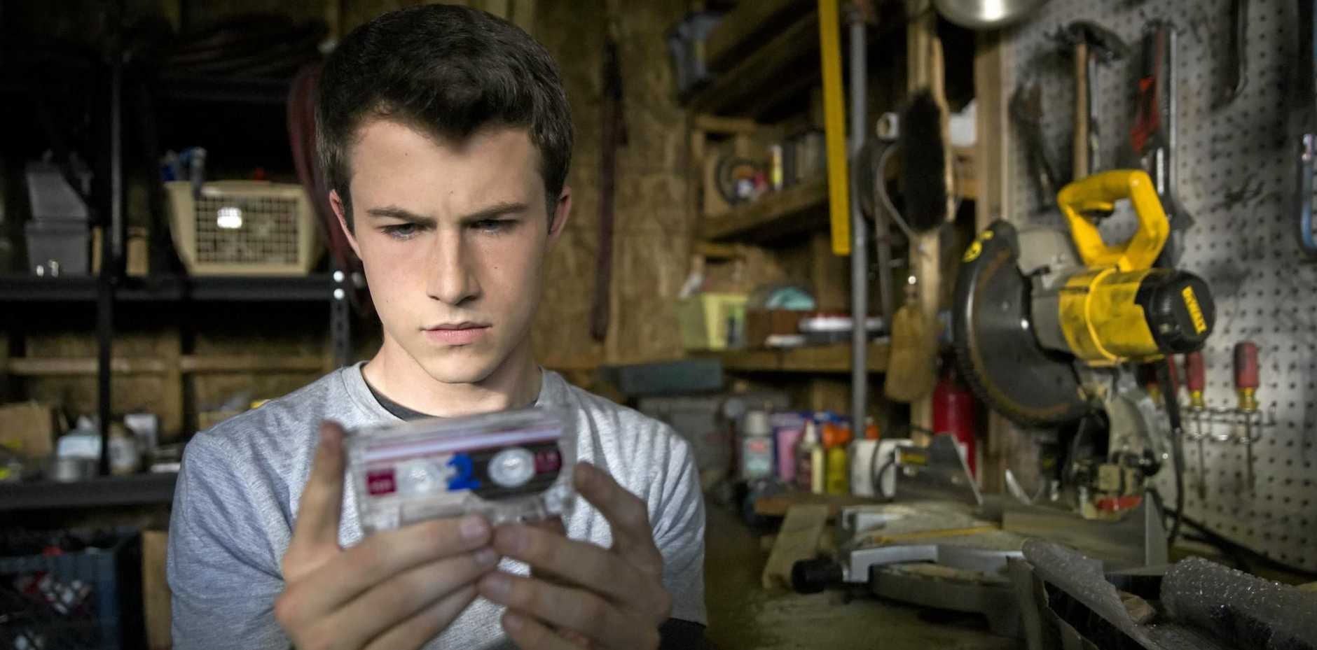 Dylan Minnette plays Clay Jensen in Netflix streaming series 13 Reasons Why, which has been criticised by some mental health experts and educators.