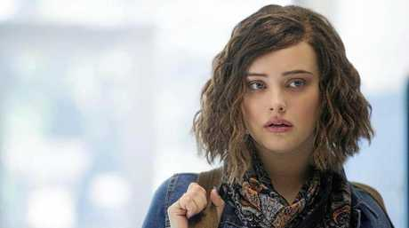 Katherine Langford, who plays Hannah Baker in Netflix series 13 Reasons Why.