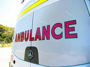 Car collides with livestock on New England Hwy