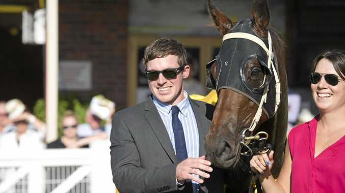 Trainer Ben Currie celebrated another feature success following the win of With A Promise in the Listed Silk Stocking at the Gold Coast.
