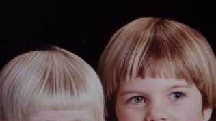 Anna and Katie were inseparable as young children.