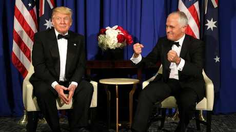Malcolm Turnbull talks up the alliance with the US before President Donald Trump.