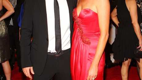 Karl Stefanovic and his now ex-wife Cassandra Thorburn in 2011.