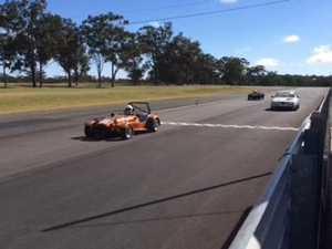 Motor racing action hots up at Morgan Park