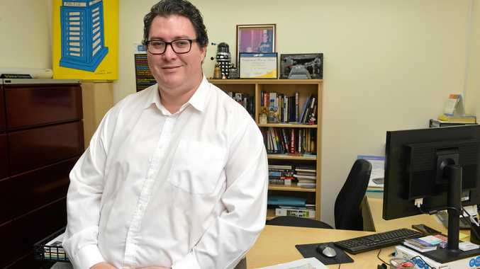 George Christensen is all smiles after the budget
