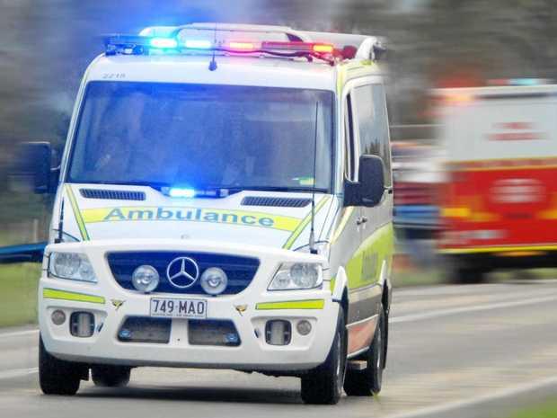 Ambulance, police auto in Melbourne crash