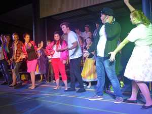 Students rise up for Grease show