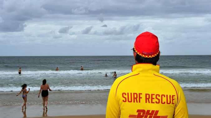HOT SPOT: Rainbow Beach lifeguards were busy this past season as more than 200,000 people descended on the area.