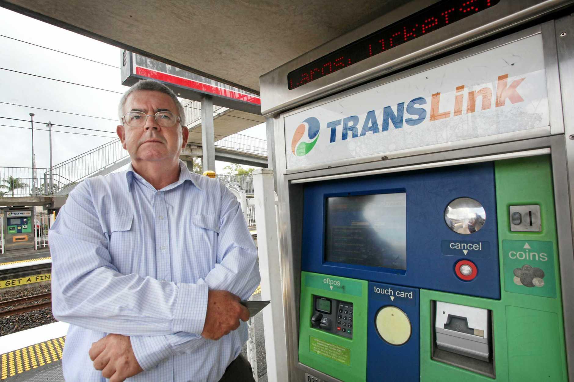 WAKE UP CALL: Rail Back on Track's Robert Dow.