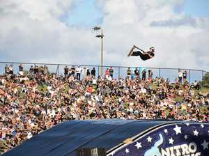 Nitro Circus star Ryan Williams thrills Sunshine Coast fans