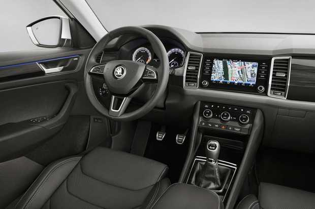 2017 Skoda Kodiaq seven-seat SUV. Photo: Contributed