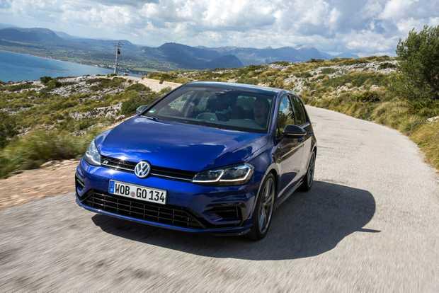 The Volkswagen Golf.