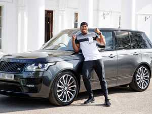 World Champ Anthony Joshua shows off his wheels