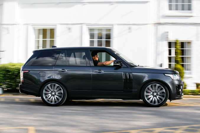 Anthony Joshua MBE takes delivery of bespoke Range Rover ahead of his heavyweight world title bout versus Wladimir Klitschko on 29 April.