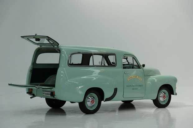 1955 FJ Panel Van in Shannons Autumn Classic Auction in Melbourne on Monday (May 8)