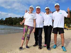 170km beach walk starts with a single step