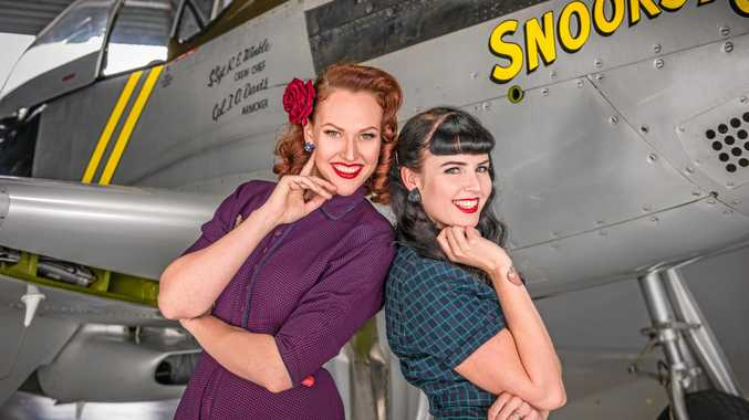 Sofie Bahnson (Miss Fifi La Rouge) and Renae Soppe (Miss Hg Mercury) have formed the Sunshine Coast Pinup School in Nambour.
