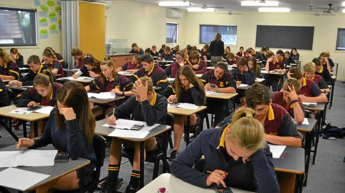 The NAPLAN tests, starting today, are the first chance for Year 9 students to meet the new HSC minimum standards.