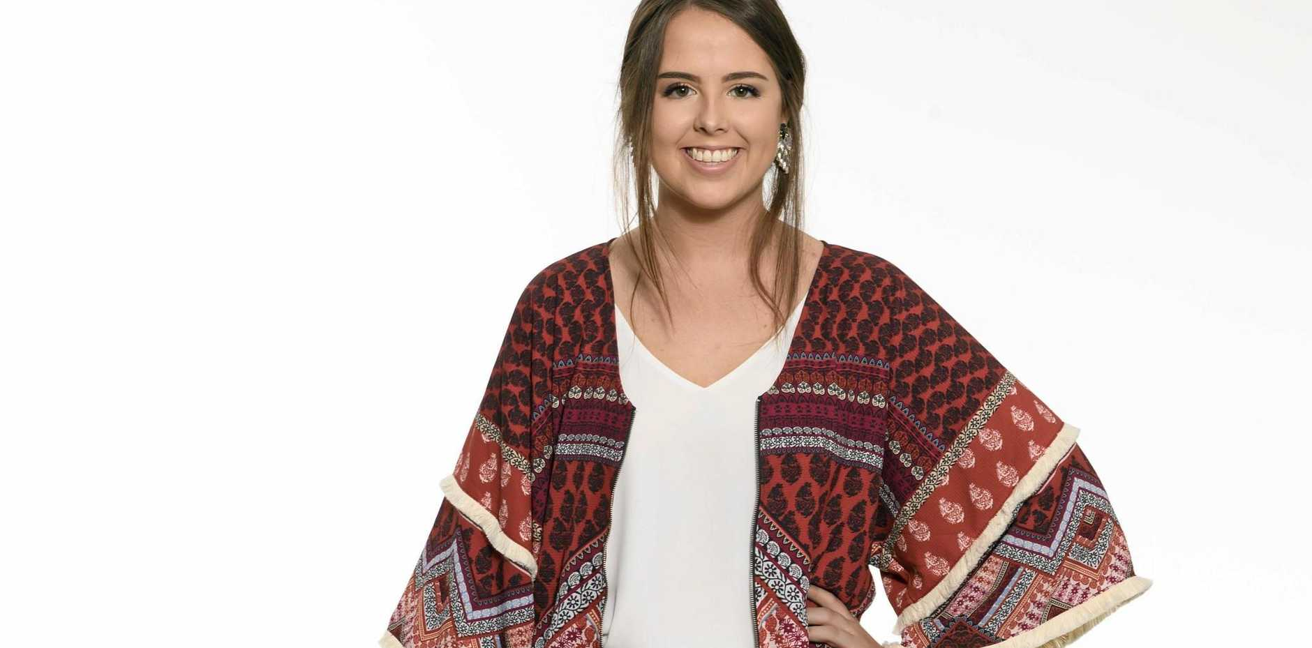 Former Grafton local Rachael Noakes, who will try out for a spot on The Voice tonight.