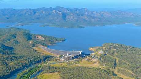 OPTIONS: The mountains west of Gladstone would be the perfect place for a pumped-storage hydroelectricity facility.