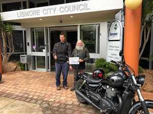 Round Oz Ride donates to Lismore flood appeal