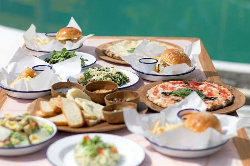 TASTY TREATS: The food at Mrs Sippy is perfect for poolside dining. Photo: Mrs Sippy.