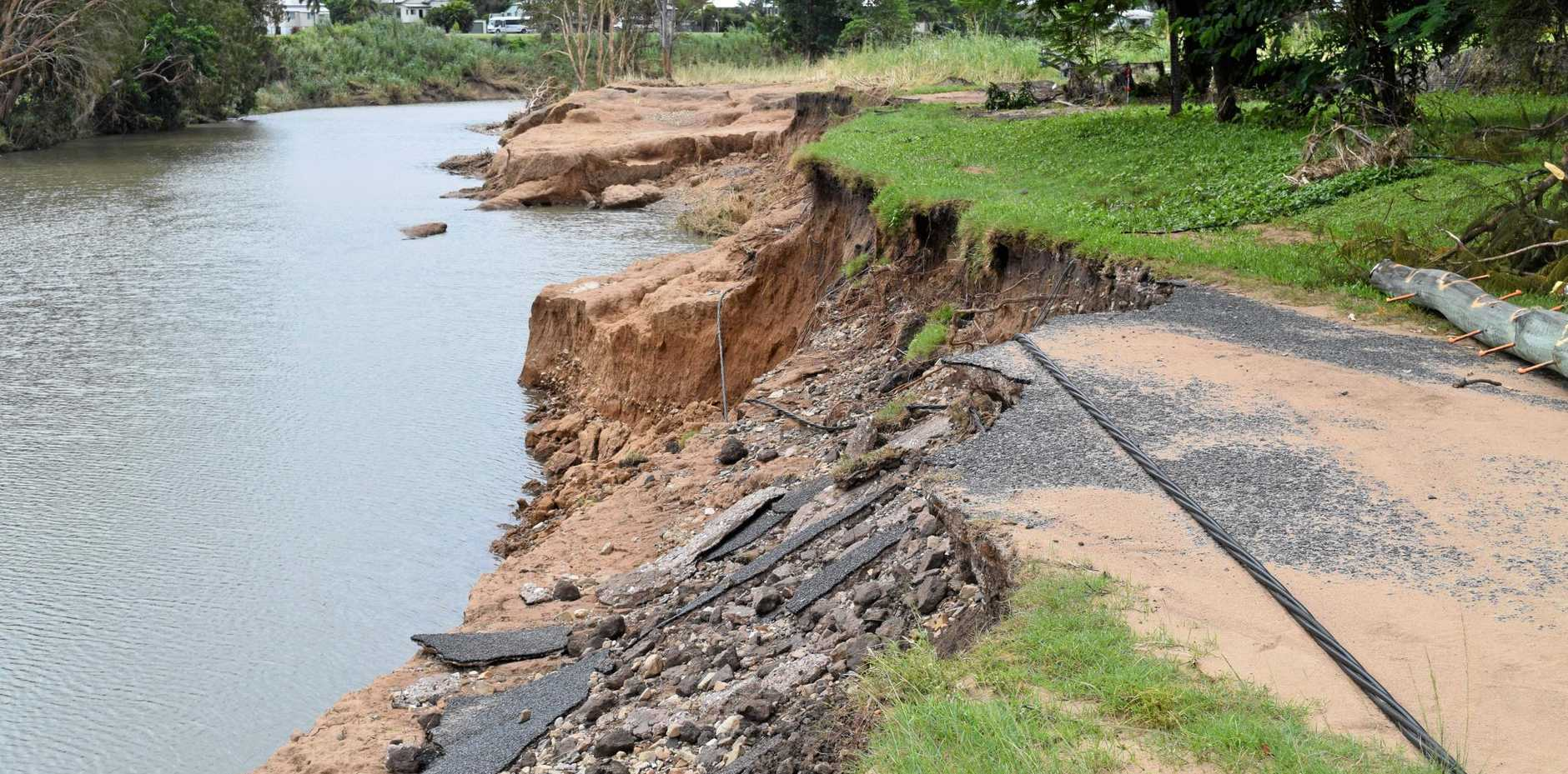 FLOODPLAIN: Sarina residents want a rainforest removed to stop future damage from Plane Creek flooding.