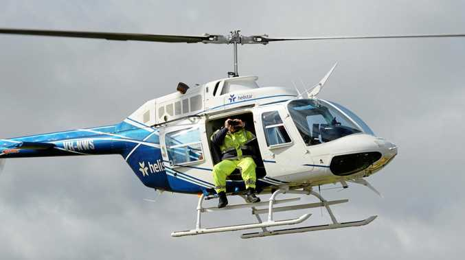 POWER PATROLS: Helicopter patrols are expected to take place until mid-June (weather permitting) across the Mackay region where Powerlink's network is located.