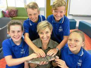 Science comes to life with native animals in classrooms