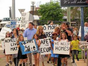 'We need a home!': Protesters demand action on housing