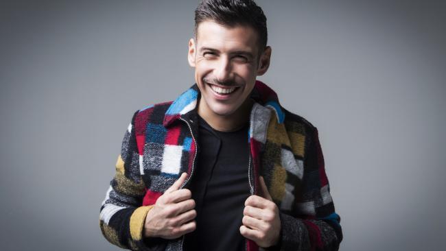 Italy's Eurovision contender Francesco Gabbani.
