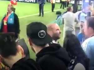 Masterchef judge in scuffle with Sydney FC fan