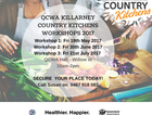 Knife skills session, nutrition and chronic disease information, cooking demonstration and hands on component, recipe modification guidelines and a tasty lunch.