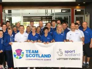 Team Scotland visits USC