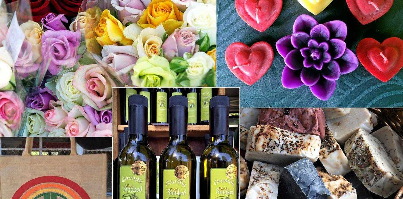 MOTHER'S DAY: Spoil your mum with the local roses, hand made beeswax candles, natural soaps and foodie gifts.