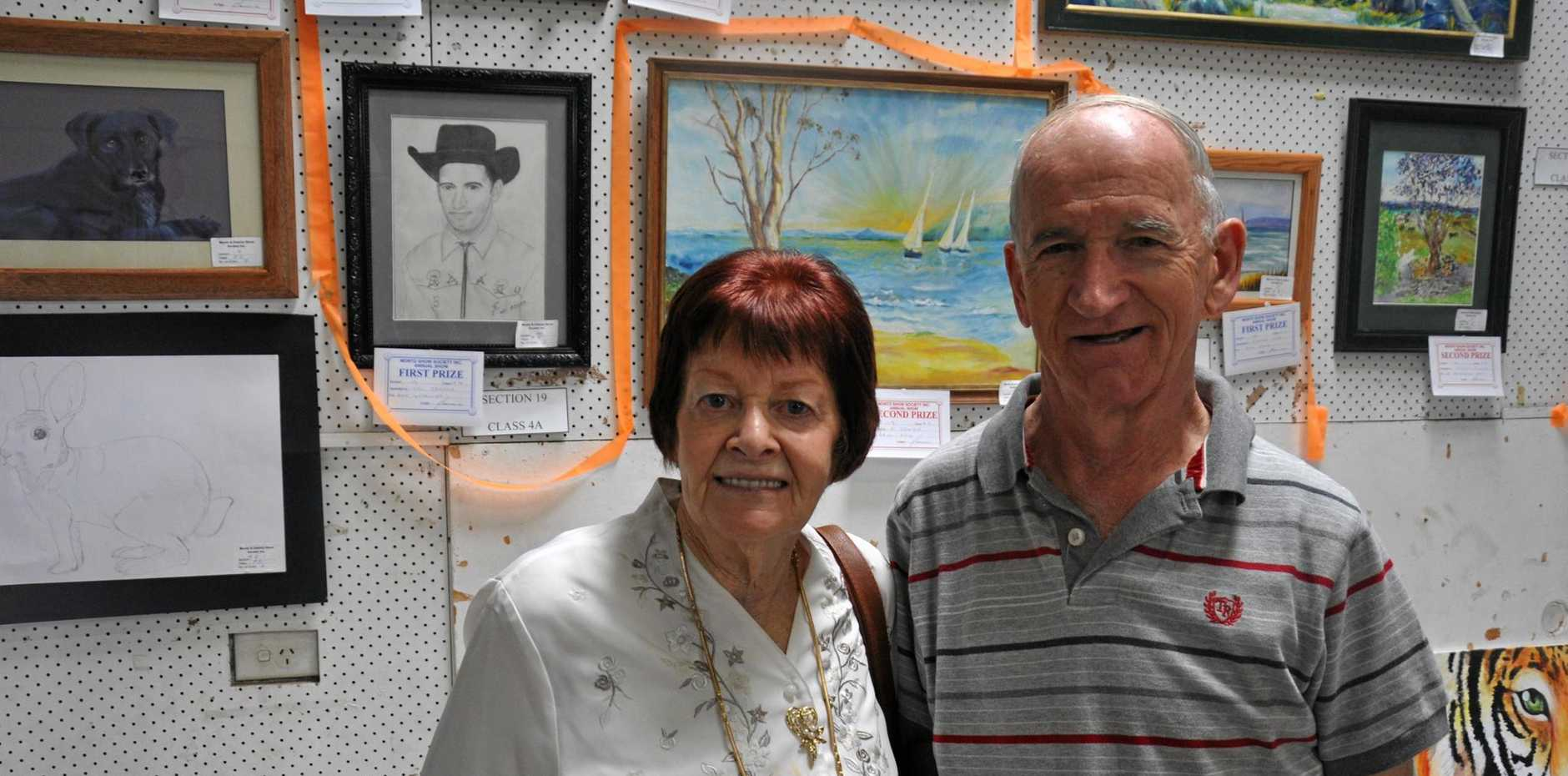 PURSUING DREAMS: Val and Brian Jendra have been able to follow their passions for art and music since retirement.