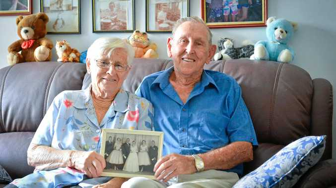 AMAZING PARTNERSHIP: Amy and Lawrie Price celebrated their 60th wedding anniversary last week.