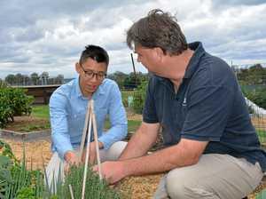 UQ community garden open to the Lockyer Valley