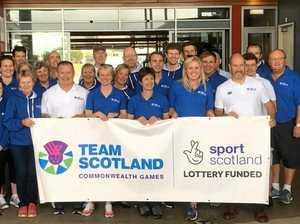 Scotland to launch medal raid from Sunshine Coast base