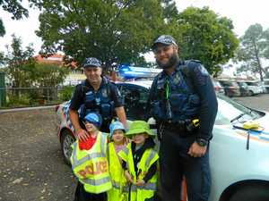 Children try life in the police force on for size